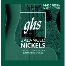 GHS Balanced Nickels - Medium 5 String 44-130