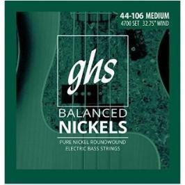 GHS Short Scale Balanced Nickels - Medium 44-106