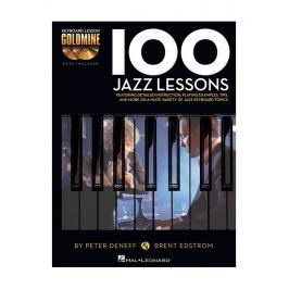 Hal Leonard Keyboard Lesson Goldmine: 100 Jazz Lessons