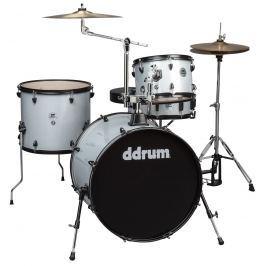 DDRUM D2 Rock Kit Silver Sparkle Zestawy perkusyjne Rock 22-12-13-16