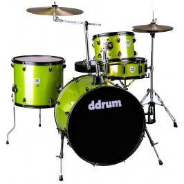 DDRUM D2 Rock Kit Lime Sparkle Zestawy perkusyjne Rock 22-12-13-16
