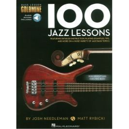 Hal Leonard Bass Lesson Goldmine: 100 Jazz Lessons