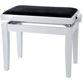 GEWA 130020 Piano Bench Deluxe White Matt