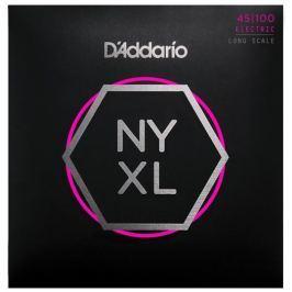 D'Addario Set Long Scale Regular Light 45-100