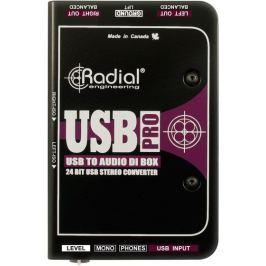 Radial USB-Pro Stereo USB Laptop DI
