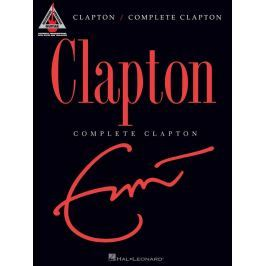 Hal Leonard Eric Clapton - Complete Clapton Guitar