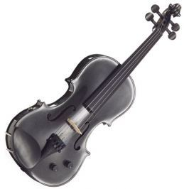 Stentor E-Violin 4/4 Student II, Artec Piezo Pickup Black Skrzypce elektryczne
