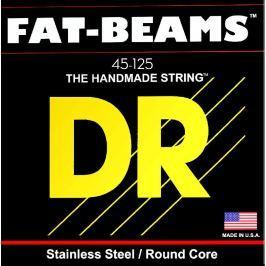 DR Strings Fat Beams Stainless 5 Strings 045-125 Struny do gitar basowych 5-strunowych