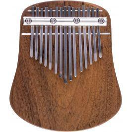 Kalimba Musical Instrument LO15 Diatonic G-Dur Polished Walnut Kalimbi