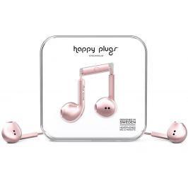 Happy Plugs Earbud Plus Pink Gold Deluxe Edition Małe słuchawki douszne