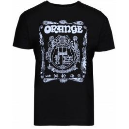 Orange Ladies Crest T-Shirt Black Extra Large