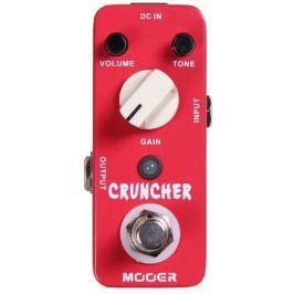 MOOER Cruncher Overdrive / Distortion / Fuzz / Boost