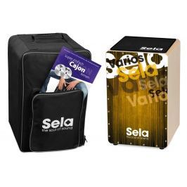 Sela SE 064 Varios Cajon Bundle Gold Wood Cajon