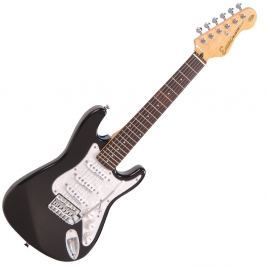 Encore E375BLK 3/4 Electric Guitar Gloss Black