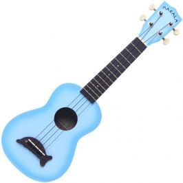 Kala Makala Soprano Ukulele  Light Blue Burst