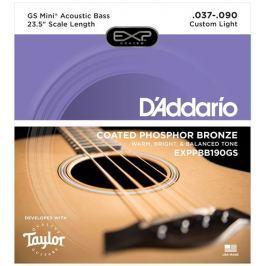 D'Addario EXPPBB190GS Struny do gitar basowych akustycznych