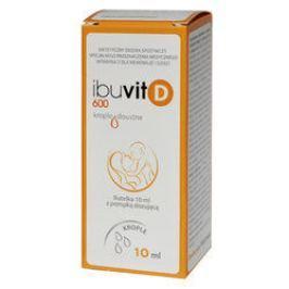Ibuvit D 600 Krople z pompką dozującą 10ml