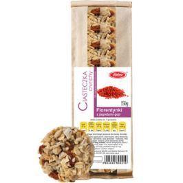 Florentynki z jagodami goji ciasteczka zbożowe crunchy 160g