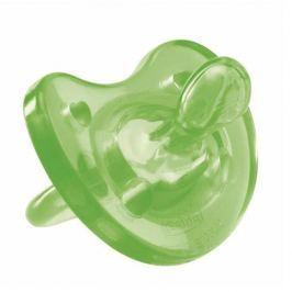 CHICCO Smoczek uspokajający Physio Soft zielony 12m+ x 1 sztuka