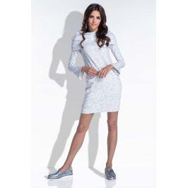 Ecru Komfortowa i Kobieca Sukienka Mini Sukienki i suknie