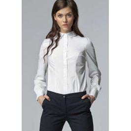 Biała Klasyczna Bawełniana Koszula