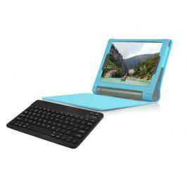 Etui na magnes Lenovo Yoga tab 3 10 X50 niebieskie +klawiatura - Niebieski