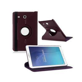 Fioletowe etui skórzane PU Stand Cover Galaxy Tab A 9.7 T550 - Fioletowy