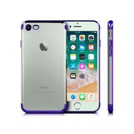 Etui Alogy luxury Apple iPhone 7/8 błyszczące niebieskie +Szkło - Niebieski