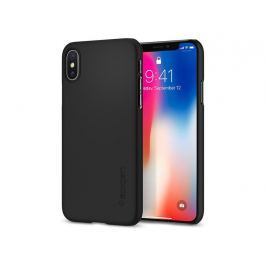 Etui Spigen SGP Thin Fit Apple iPhone X Matte Black - Czarny