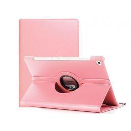 Etui obrotowe 360 Huawei MediaPad M5 10.8/ M5 pro Różowe + Szkło - Różowy