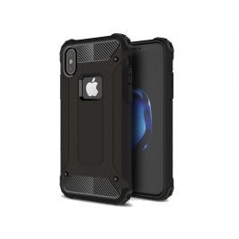 Etui Pancerne Alogy Apple iPhone X Hard Armor Czarne - Czarny