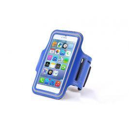Etui na ramię sportowe do biegania na telefon do 5.5 cala niebieskie - Niebieski