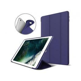 Etui Alogy Smart Case Apple iPad Air 2 silikon Granatowe + Szkło - Granatowy