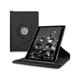 Etui obrotowe 360 Huawei MediaPad M3 Lite 10 Czarne + Szkło - Czarny