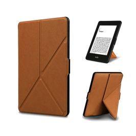 Etui ORIGAMI do Kindle Paperwhite na magnes Brązowe - Brązowy