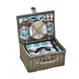 Koszyk piknikowy wiklinowy CILIO MULTI BEŻOWY 40 x 28 cm
