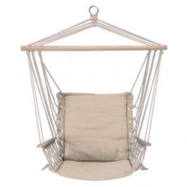 Hamak / Krzesło brazylijskie podwieszane bawełniane OLAVO KREMOWE