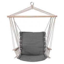 Hamak / Krzesło brazylijskie podwieszane bawełniane OLAVO SZARE