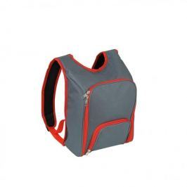 Plecak piknikowy termiczny z wyposażeniem poliestrowy CILIO LIDO SZARY 12 el.