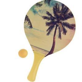Zestaw tenis plażowy Summer, żółty