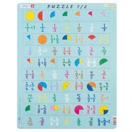 Larsen Puzzle Liczenie ułamków, 35 części