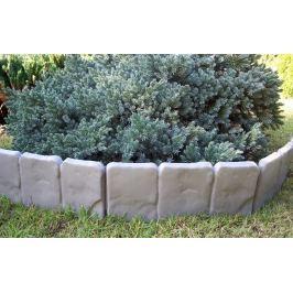 Palisada ogrodowa, krawężnik 2,5 cm szary