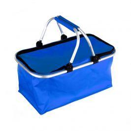 Koszyk na zakupy Kemping niebieski