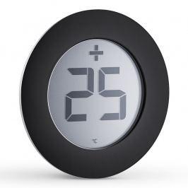 Eva Solo Elektroniczny termometr zewnętrzny Ø 8 cm czarny