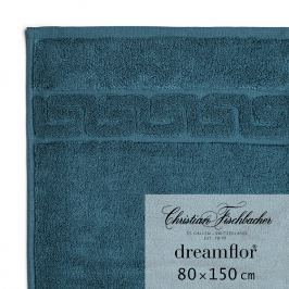 Christian Fischbacher Ręcznik kąpielowy 80 x 150 cm morski ciemny Dreamflor®, Fischbacher