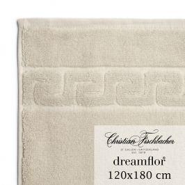 Christian Fischbacher Ręcznik kąpielowy duży 120 x 180 cm piaskowy Dreamflor®, Fischbacher