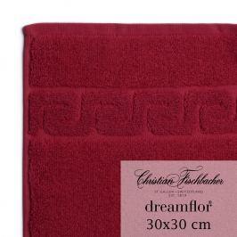 Christian Fischbacher Ręcznik do rąk / twarzy 30 x 30 cm bordowy Dreamflor®, Fischbacher
