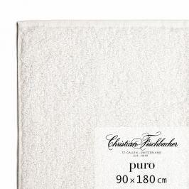 Christian Fischbacher Ręcznik kąpielowy 90 x 180 cm kredowy Puro, Fischbacher