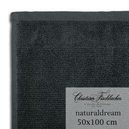 Christian Fischbacher Ręcznik 50 x 100 cm cynowy NaturalDream, Fischbacher