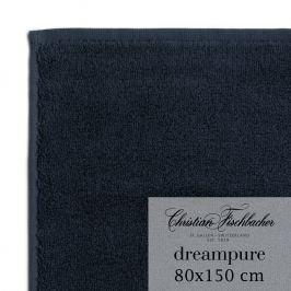 Christian Fischbacher Ręcznik kąpielowy 80 x 150 cm granatowy Dreampure, Fischbacher
